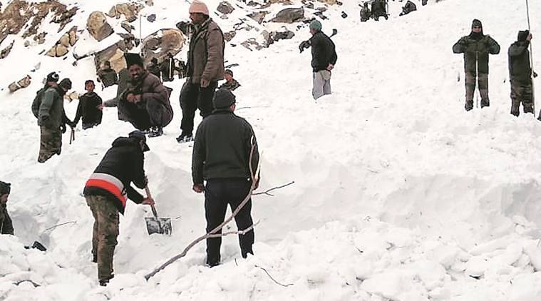 Soldier killed, 5 missing in Himachal avalanche