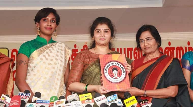 Telangana, Telangana Shweta Shetty, Shweta Shetty party, National Women's Party, NWP lok sabha elections, general elections 2019, Indian express