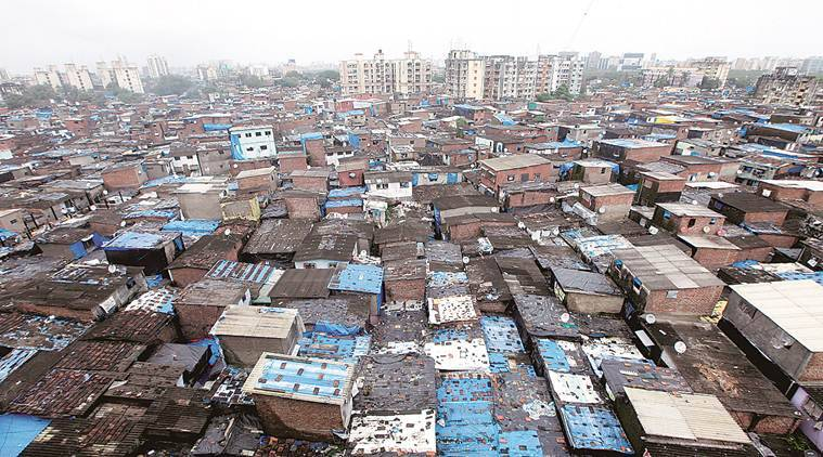 india slums, slum population in india, Maharashtra slums, Andhra Pradesh slums, delhi slums, Indian express