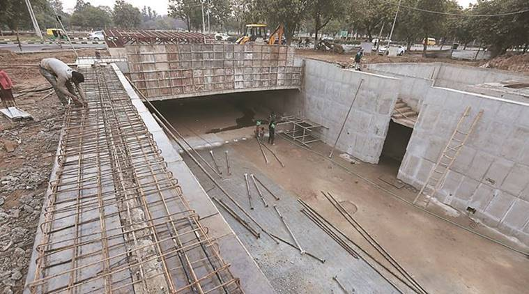 Chandigarh: Smart City underpass to be ready in March, architects call it 'colossal waste of money'