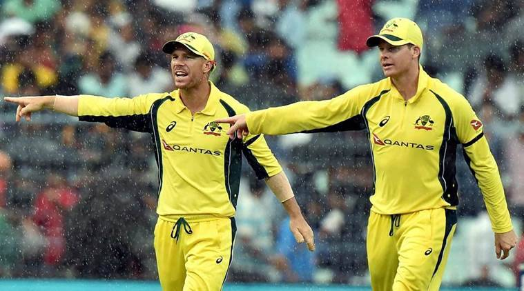 Australia's Steve Smith and David Warner