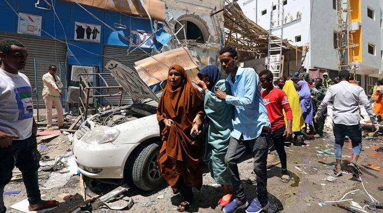 Somalia, Somalia bombing, Somalia car bombing, Mogadishu car bombing, Mogadishu car bombing, Indian express, world news, latest news