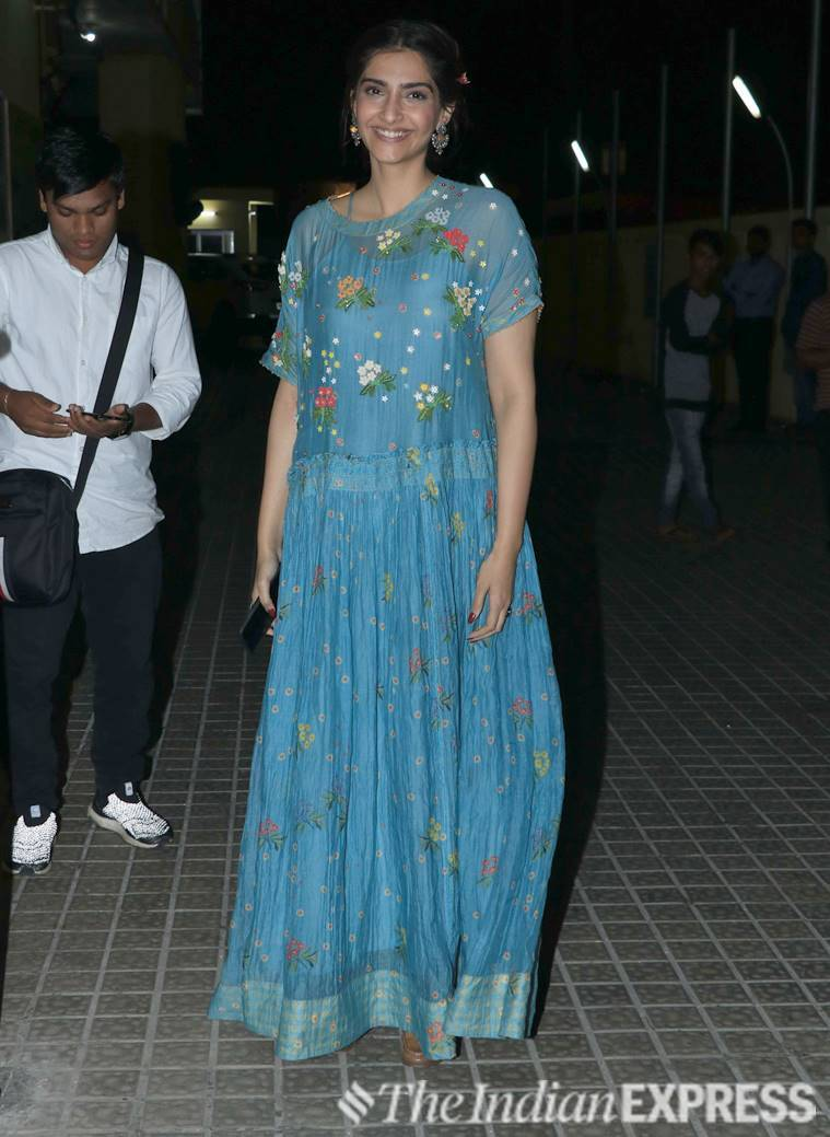 Sonam Kapoor Ahuja maxi dress, malaika arora, floral dress