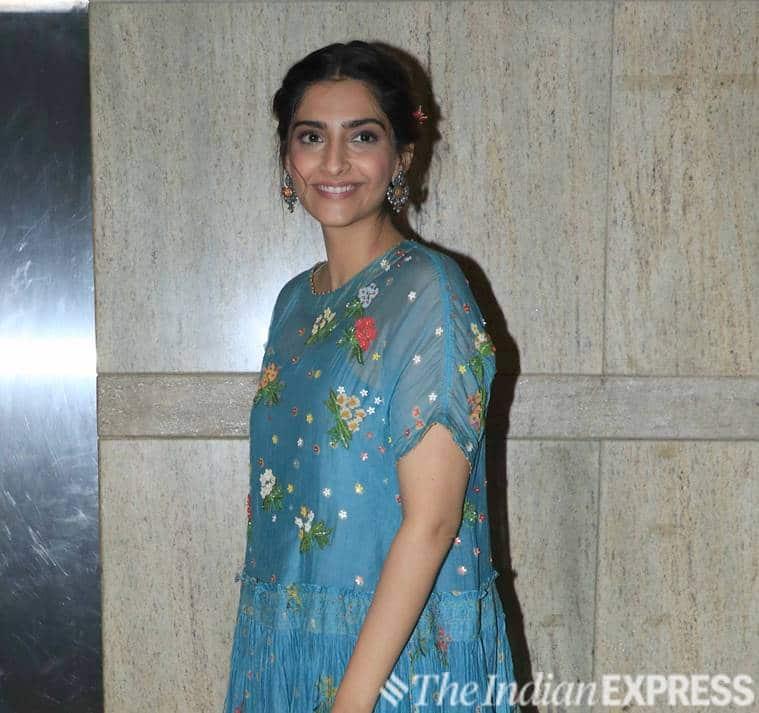 Sonam Kapoor Ahuja maxi dress, malaika arora, floral dress