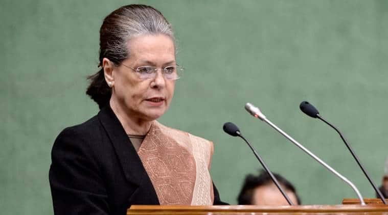 Sonia Gandhi, Sonia Gandhi, Narendra Modi, Sonia gandhi on economy, Congress, India news, Indian express