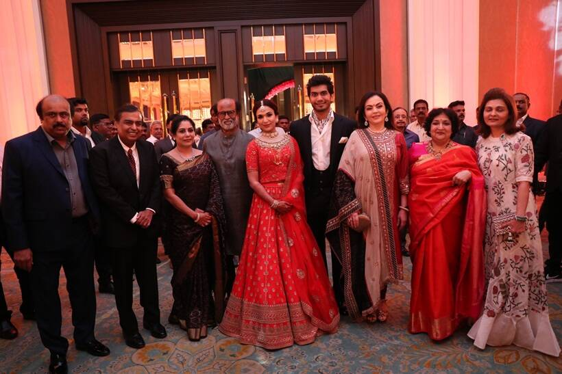 Soundarya Rajnikanth and Vishagan Vanangamudi reception