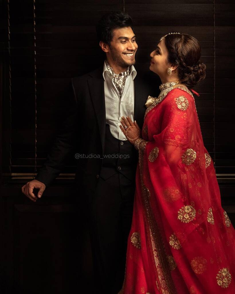 Soundarya Rajnikanth and Vishagan Vanangamudi married