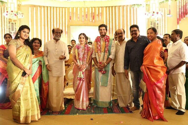 photos of soundarya vishagan wedding