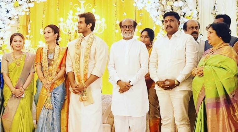 Inside Photos From Soundarya Rajnikanths Pre Wedding Reception