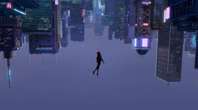 spider man into the spider verse oscars 2018