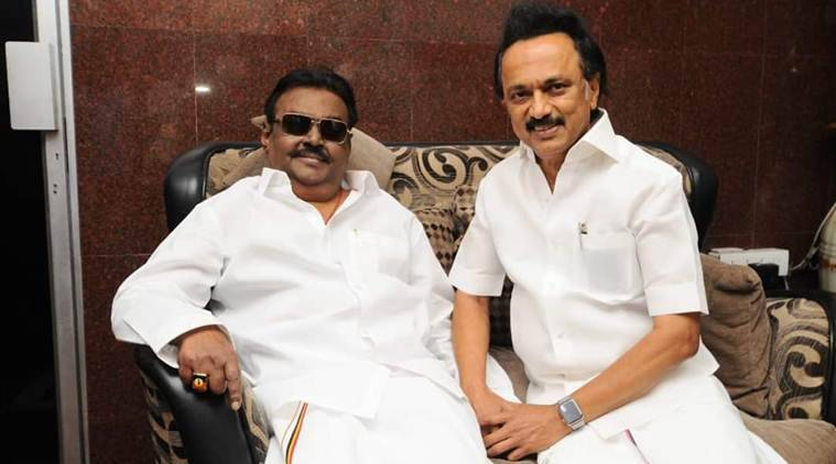 Rajinikanth, Stalin meet DMDK chief Vijayakant, set off political buzz