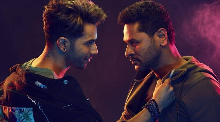 varun dhawan and prabhu deva in street dancer 3D