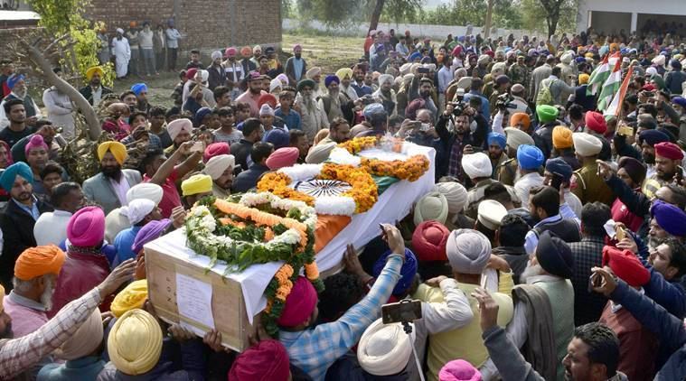 Sea Of People, Ministers Pay Last Respects To Crpf Men From Border Districts Of Punjab