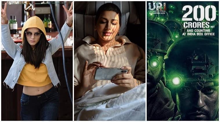 Sunny Leone, Sonali Bendre, Vicky Kaushal social media photos