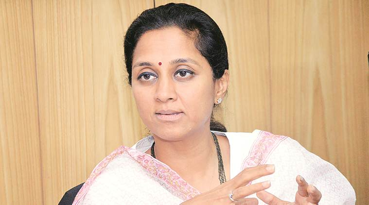 Supriya sule, NCP, mp report, parliament report card, pune mps, lok sabha, lok sabha elections, lok sabha polls, lok sabha polls 2019, indian express