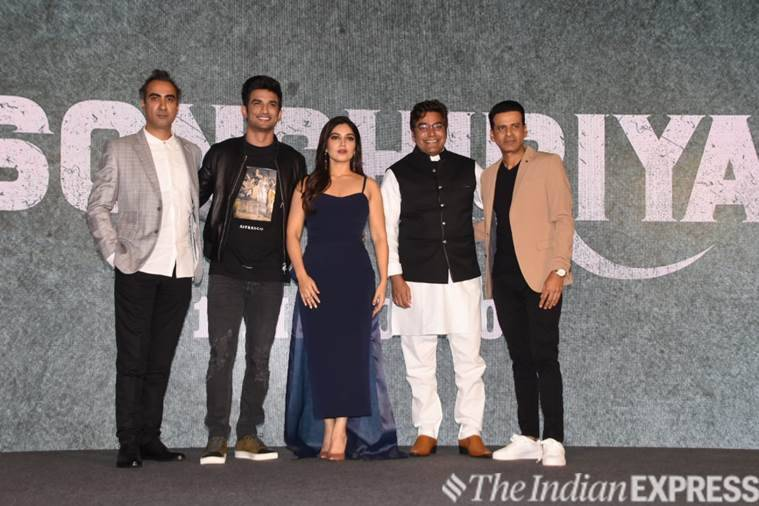 sonchiriya trailer launch pics