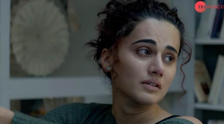 taapsee pannu in Badla song Kyun Rabba