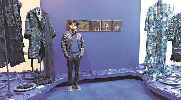 Designer Naushad Ali On Representing India At The International Fashion Showcase At London Fashion Week And Why Circular Fashion Should Be A Priority Lifestyle News The Indian Express