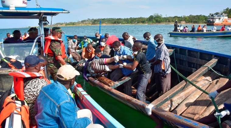 ferry capsized, capsized, capsized ferry survivor, tanzanian ferry survivor, lake victoria, lake victoria mishap, world news, global news, indian express