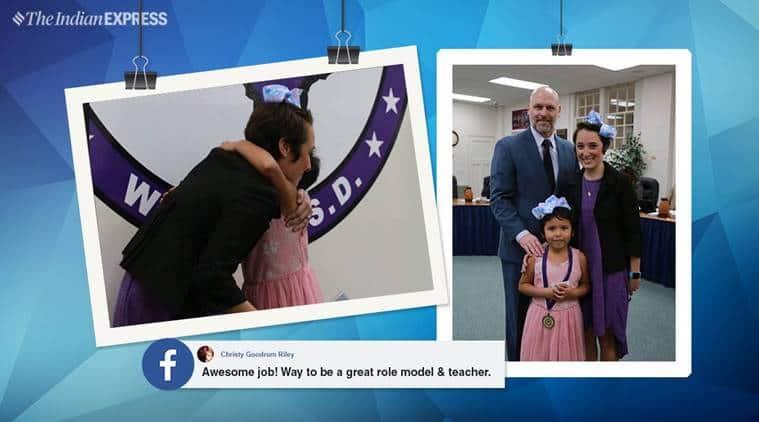 Houston Kindergarten Teacher Shannon Grimm Chops Waist-Long Hair for Bullied Girl