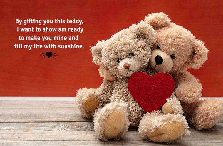 Happy Teddy Day 2019 Wishes Images, Quotes, Status, SMS ...