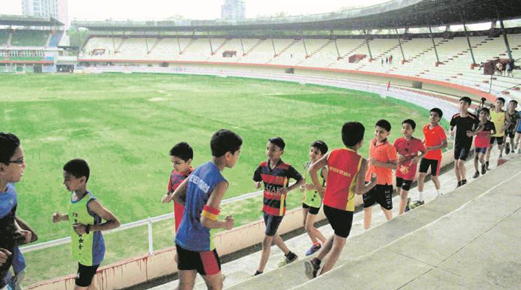 Cricket forces out budding stars from Thane stadium's track to its steps