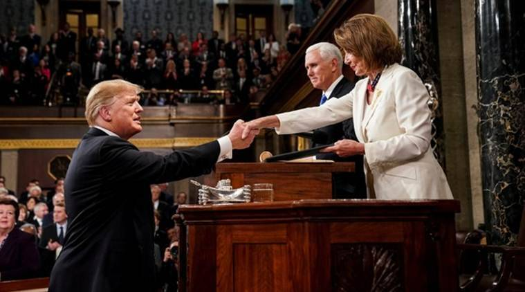 State of the Union: Donald Trump asks for unity, but presses hard line on immigration