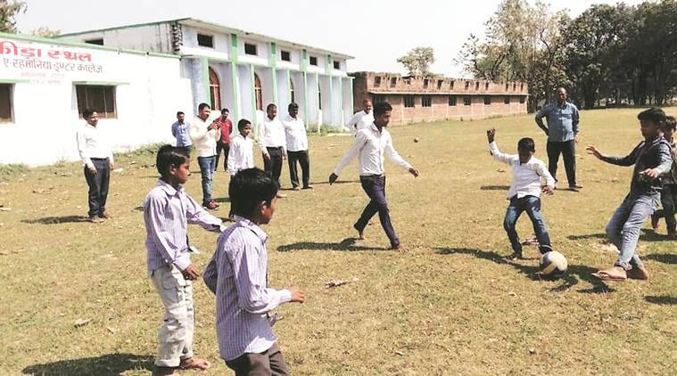 Gaushala to come up on its playground, UP school protests