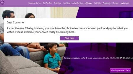 Videocon D2H, Videocon D2H choose channels, Videocon D2H channel selection, Videocon D2H channel selection online, how to choose channel in Videocon D2H, how to select channel in Videocon D2H, trai new rules, trai new rules for dth operator, Videocon D2H packages, Videocon D2H online packages, Videocon D2H online channel selection, Videocon D2H tv connection package, Videocon D2H channel list, Videocon D2H channels price list, Videocon D2H dth plan, Videocon D2H dth price list