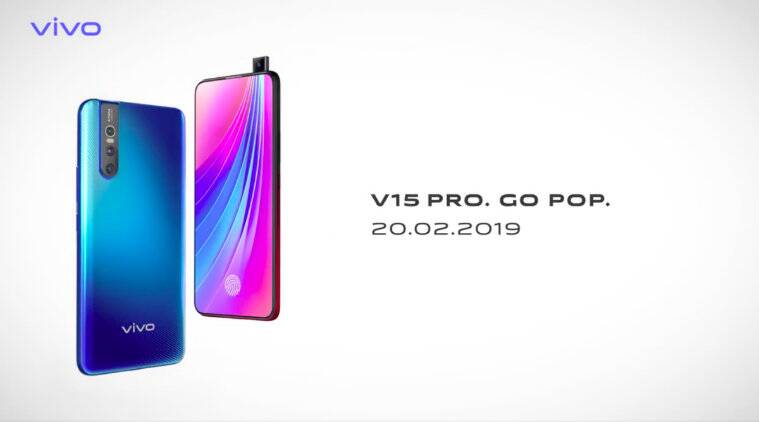 Vivo V15 Pro Announced With A 32MP Pop-Up Camera