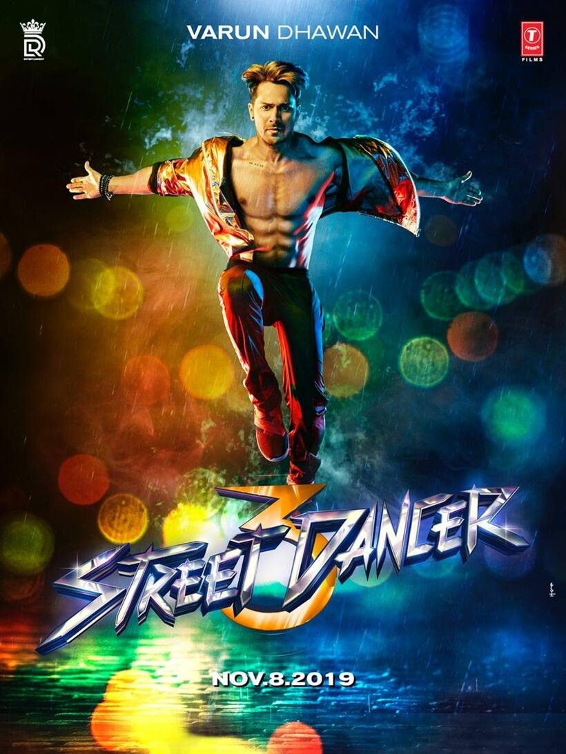 Varun Dhawan in Street Dancer 3D
