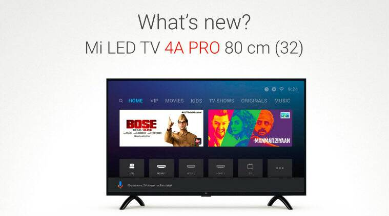 Xiaomi Mi Led Smart Tv 4a Pro 32 Mi Sports Bluetooth Earphones Basic Launched In India Technology News The Indian Express