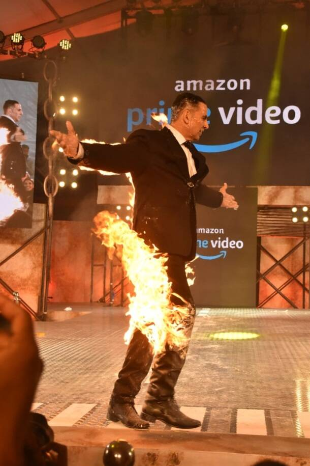 akshay kumar digital debut