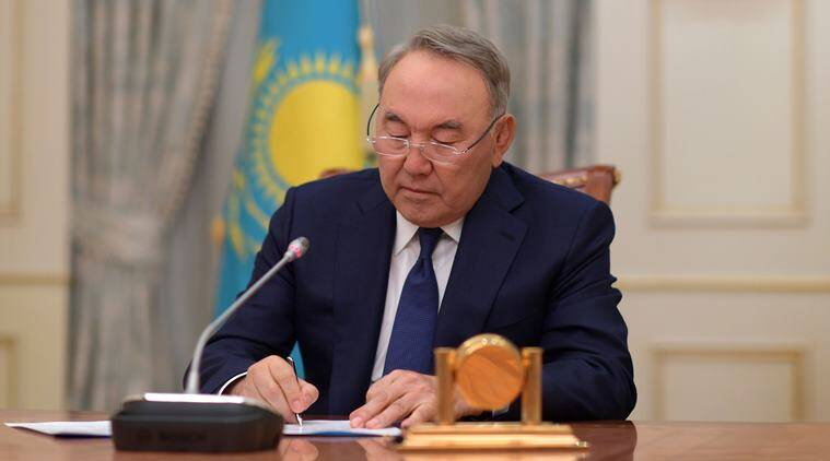 78-year-old Kazakh president resigns after three decades in office