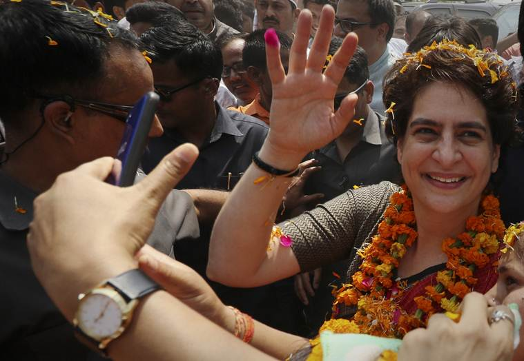 PM Modi has no time for poor, govt's focus on publicity: Priyanka Vadra in Ayodhya