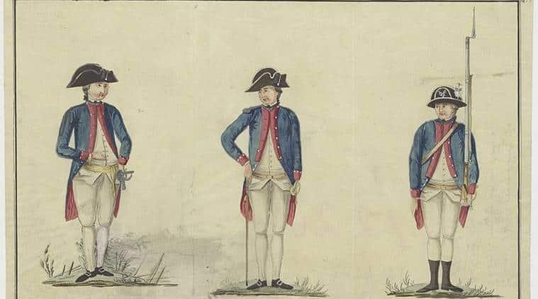 NA Uniform for VOC soldiers