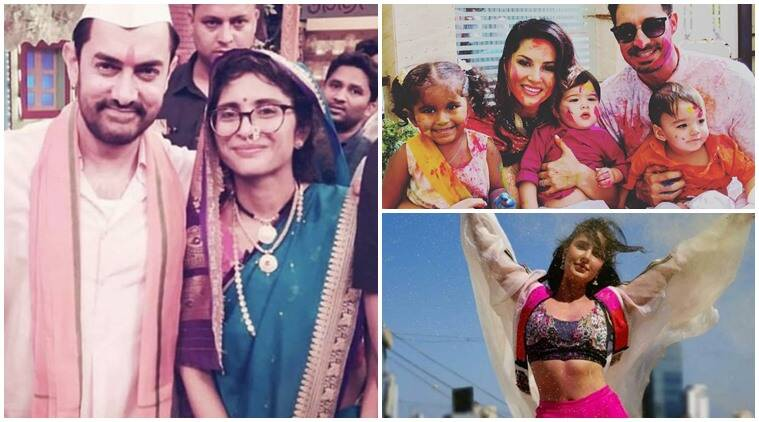 Aamir Khan, Sunny Leone, Katrina Kaif, social media photos