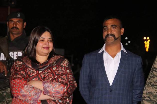 IAF Wing commander Abhinandan returns; first photos