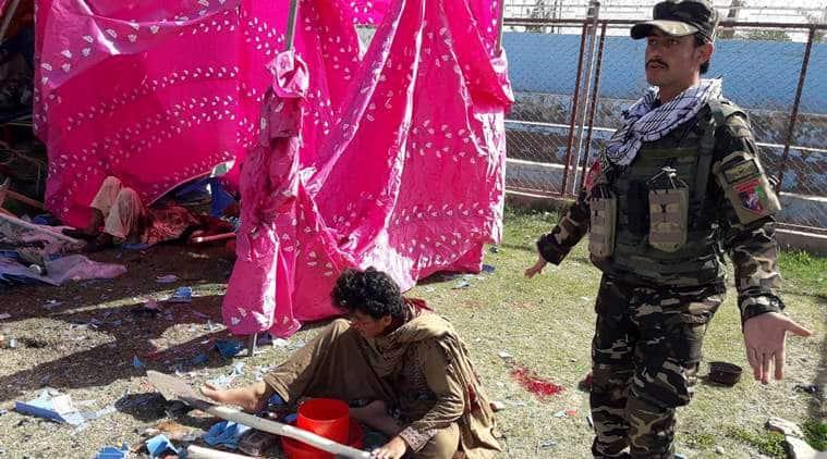 Explosions Hit Afghan Celebration, Helmand Governor Hurt