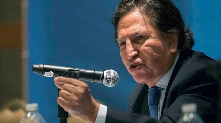 Peru says former president Alejandro Toledo arrested in US