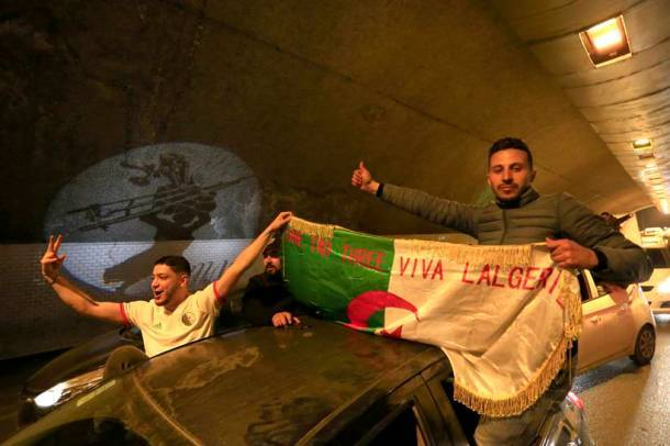 'It's time to break the chains': Across Algeria, roars for change
