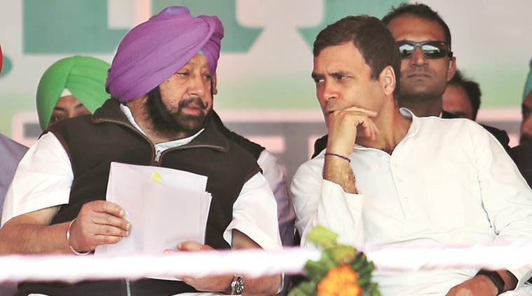 captain amarinder singh interview with indian express on lok sabha elections, congress, punjab