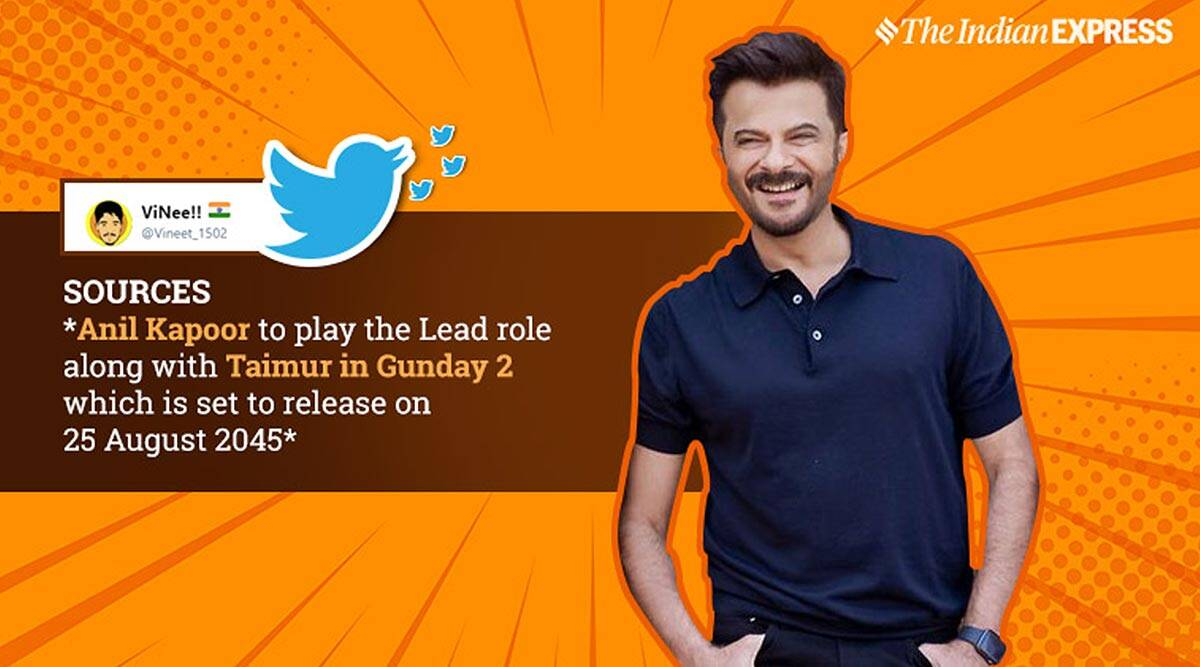 Anil Kapoor S Latest Photo Goes Viral With People Convinced He S Growing Younger Trending News The Indian Express