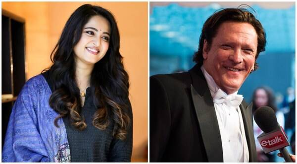 Anushka Shetty in silence with Michael Madsen