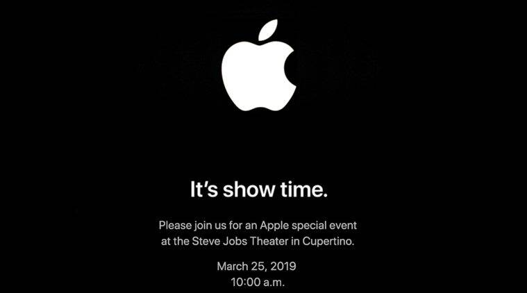 apple, apple event, apple event march 25, steve jobs, apple news service, cupertino, california, bloomberg, netflix, amazon, tech news, indian express news