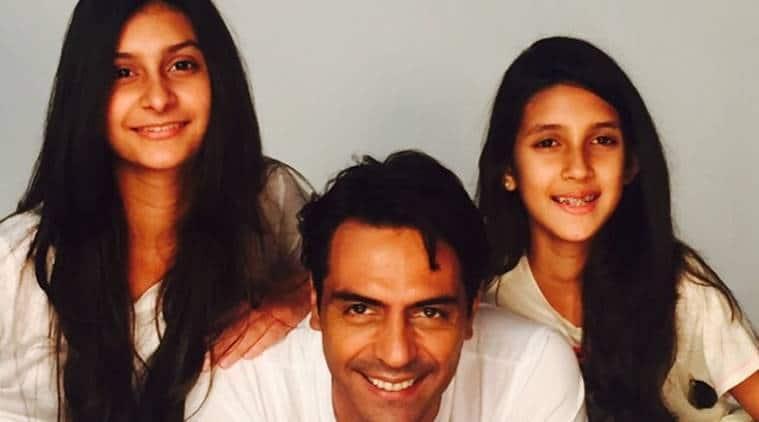womens day arjun rampal raisign daughters
