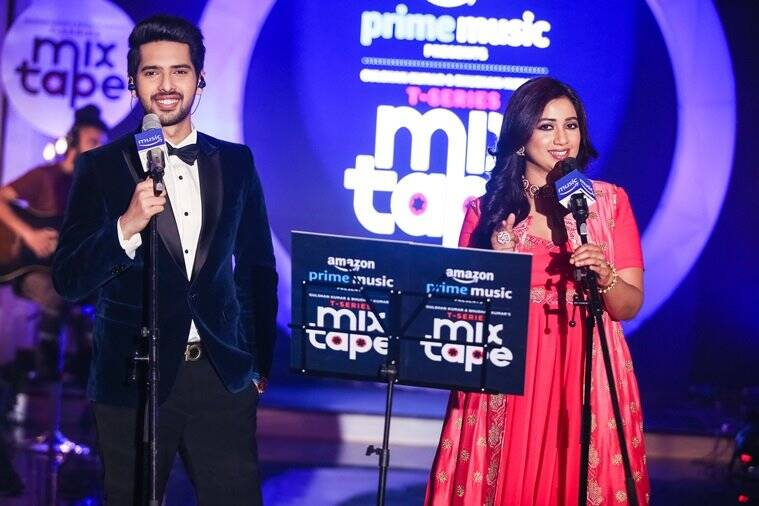 Armaan Malik and Shreya Ghoshal