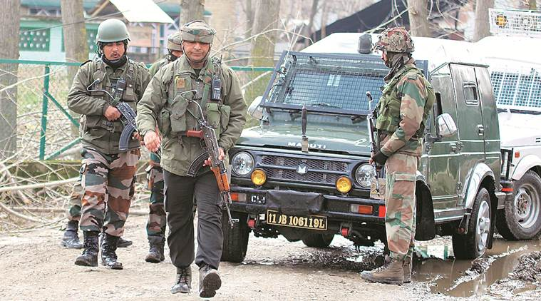 Baramulla emncounter, Baramulla gunfight, encounter in Baramulla, Rajouri, Jammu and Kashmir, Indian Army, Rajouri ceasefire violation, Kashmir cesaefire violation, India Pakistan border, indian express news
