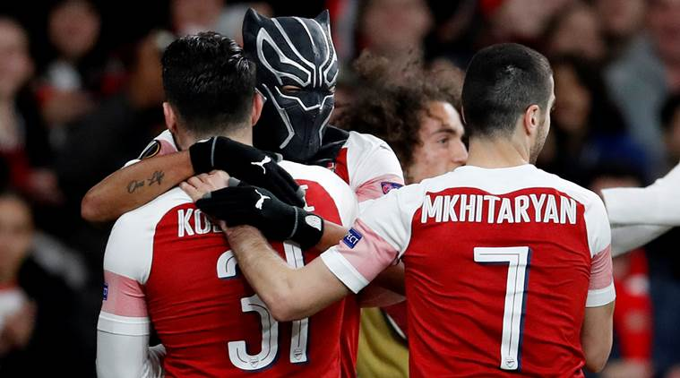 'It represents me': Arsenal's Pierre-Emerick Aubameyang explains Black Panther mask