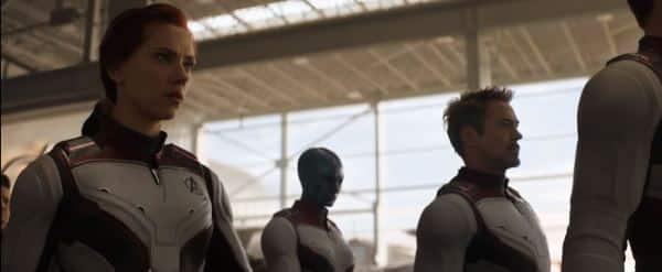 avengers white suits in avengers endgame